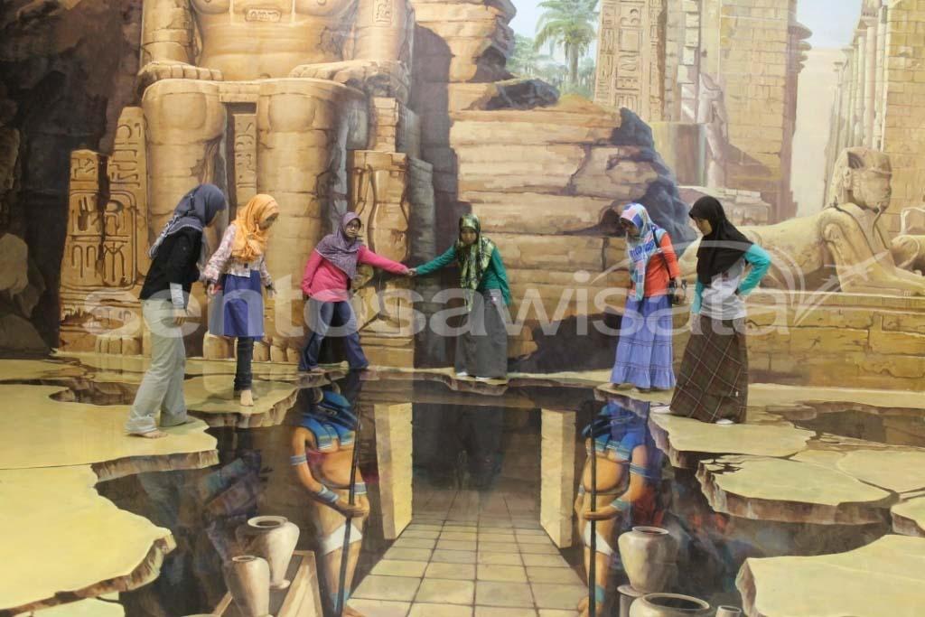 3D-Art-Gallery-Art-In-Paradise-Bangkok  SENTOSA WISATA