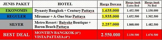 Harga-Tour-Bangkok-Silver-Lake
