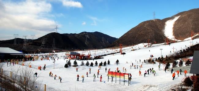 Jundushan Ski Resort Beijing