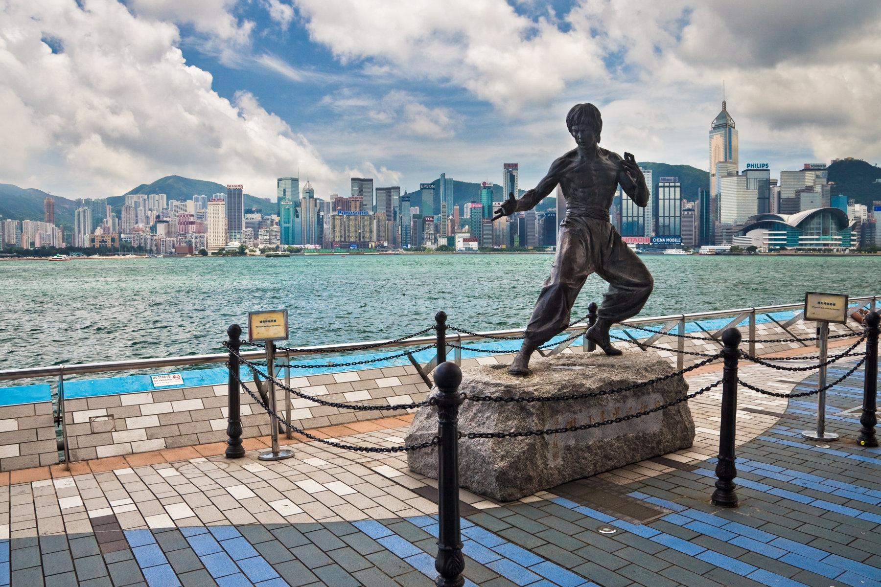 Avenue of Stars Hong Kong BruceLee