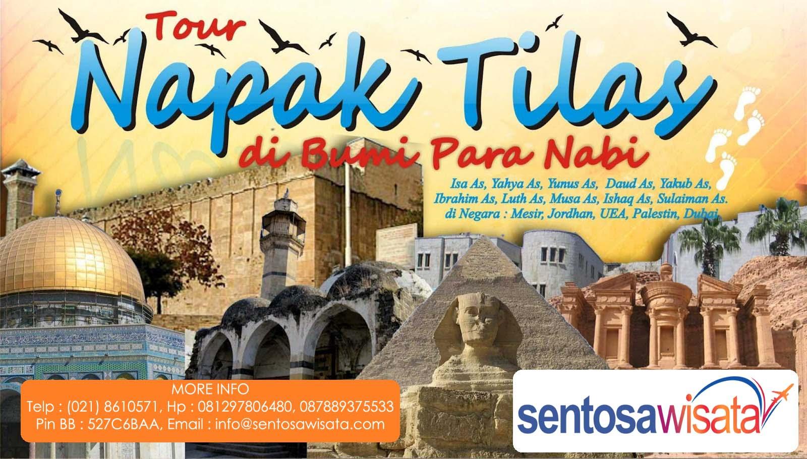 Paket Tour Napak Tilas Nabi di Mesir Palestina Jodania Arab