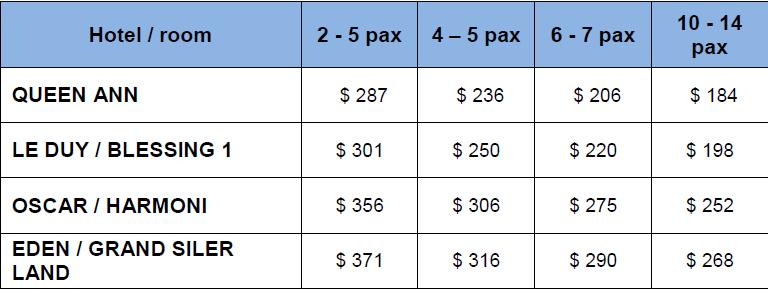 Harga Paket Tour Vietnam 4D3N sampai 30 sept 2015