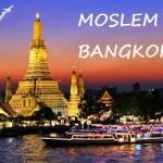 Paket Tour Muslim ke Bangkok Pattaya Thailand