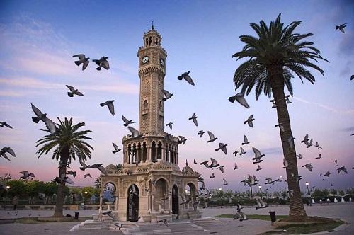 Izmir Clock Tower Turki
