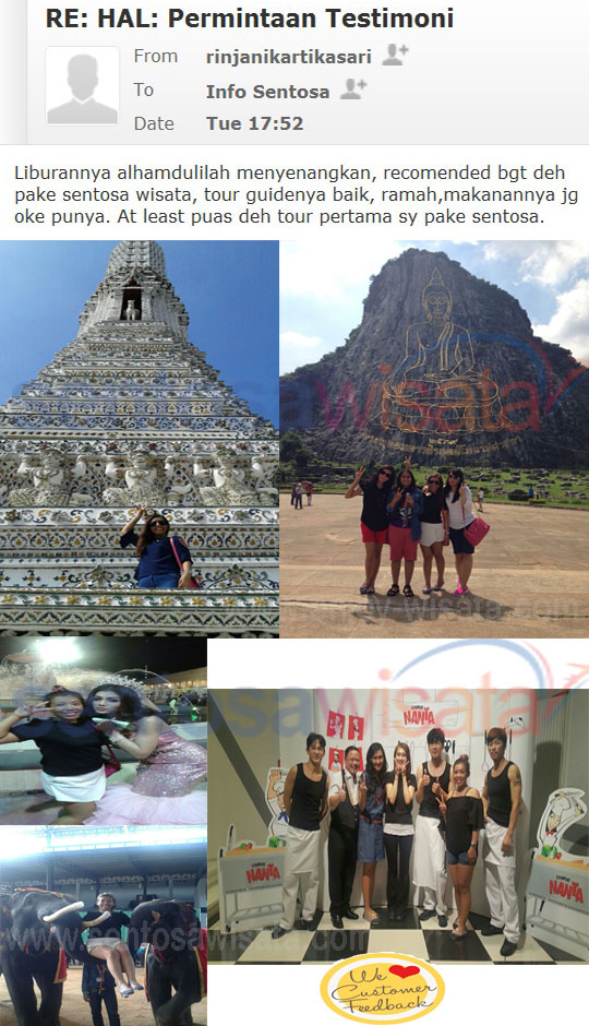 Paket Travel ke Bangkok
