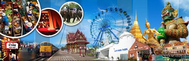 Paket Tour Bangkok Hua Hin 4D3N