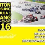 Paket Tour F1 Sepang 2016