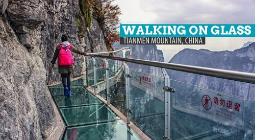 Tianmen Mountain Glass Walk