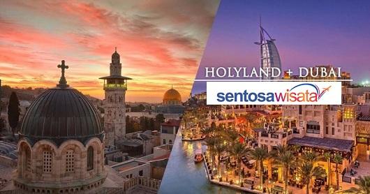 Paket Tour Holyland + Dubai