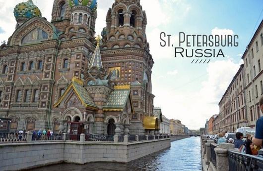 ST Petersburg Paket Wisata Russia