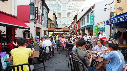 Singapura Food Chinatown