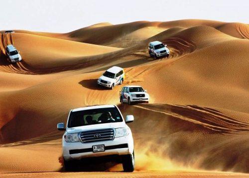 Desert Safari di Dubai