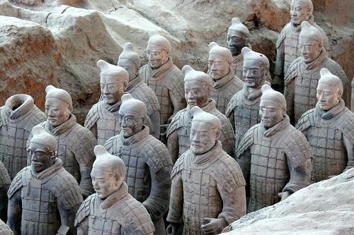 Terracotta Qin Shi Huang Warriors