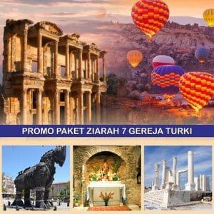 Paket Tour 7 Gereja Turki