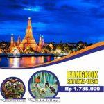 Paket Tour Bangkok Pattaya 2017 Murah