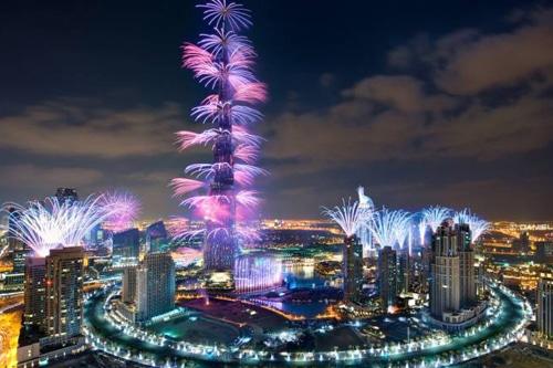 Kembang Api Dubai