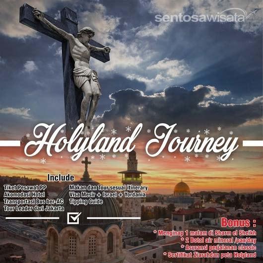 Paket Tour Holyland Murah 2019
