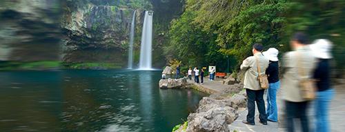 Waterfall Cheonjiyeon