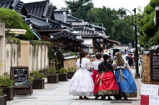 Wisata Korea Jeonjuk Hanok Village