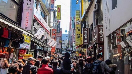 Wisata Korea Myeongdong Street