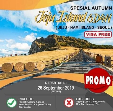 Tour Korea Jeju Autumn 2019