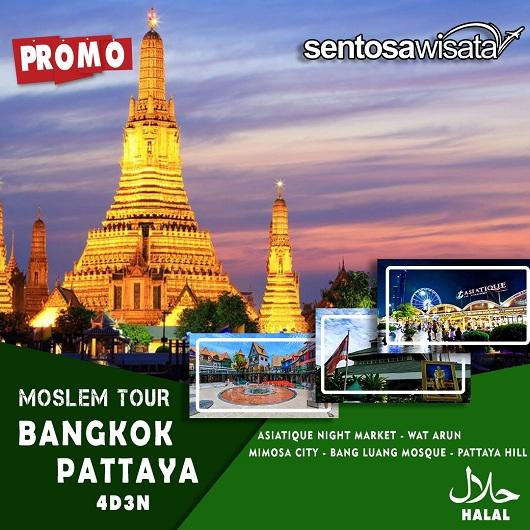 Paket Tour Muslim Bangkok Thailand