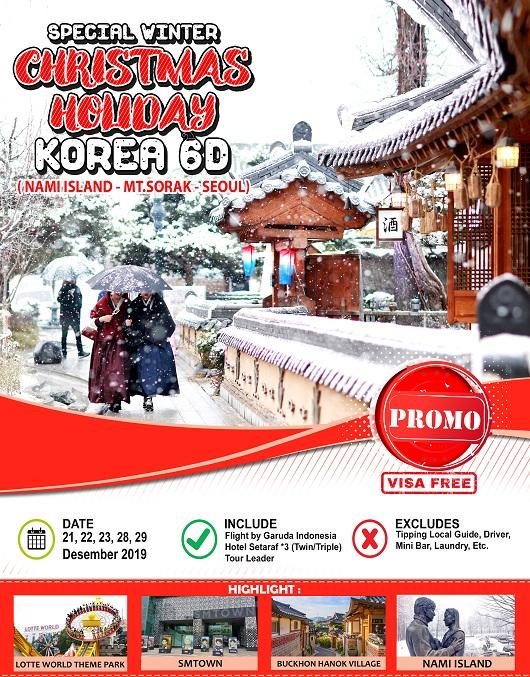 CHRISTMAS HOLIDAY KOREA 6D