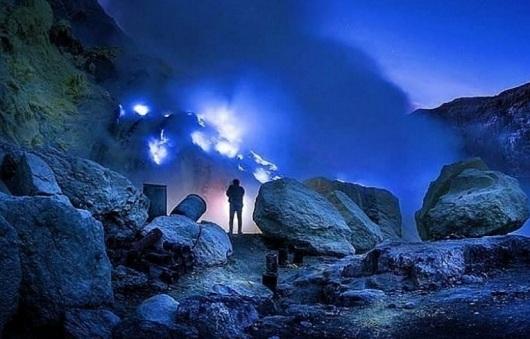 Paket Wisata Banyuwangi Blue Fire