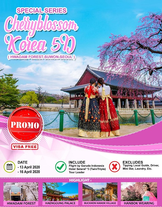 SPECIAL CHERRYBLOSSOM KOREA 5D