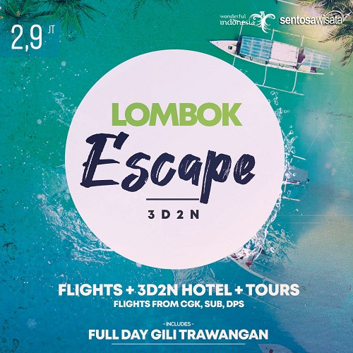 Tour Lombok Murah 3D2N